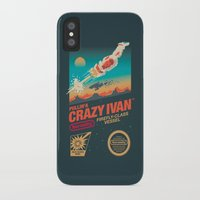 danny ivan iPhone & iPod Cases featuring Crazy Ivan by Victor Vercesi