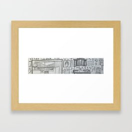 Knysna 10 February Framed Art Print