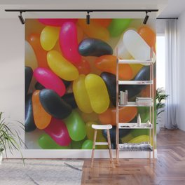 Licorice Jelly Beans Wall Mural