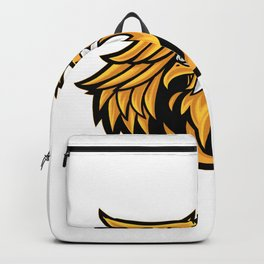 Eagle Griffin Esport Logo Template Backpack