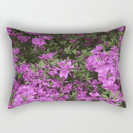 Azalea Bush Rectangular Pillow