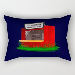 Bubs' Concession Stand - Closed Rectangular Pillow
