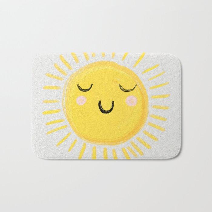 Sunshine Badematte