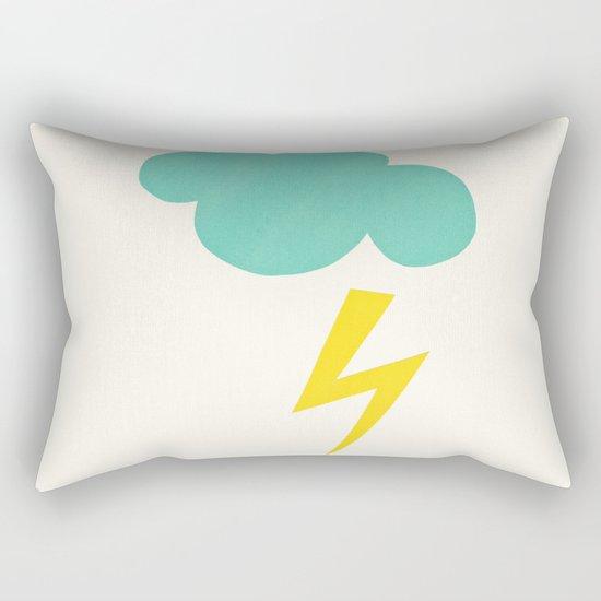 Lightning Strike Rectangular Pillow