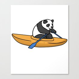Kayak Canoe Canoe Gift Canoes kayaker Canvas Print