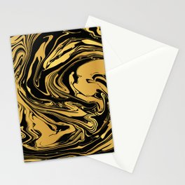 Black and Gold Marble Edition 2 Stationery Cards