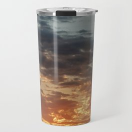 Fiery Sky #3 Travel Mug