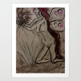 As I Waited For You, The Sun Fell From Our Sky Art Print