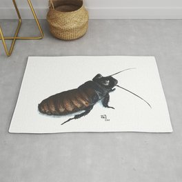 Madagascar Hissing Cockroach Rug