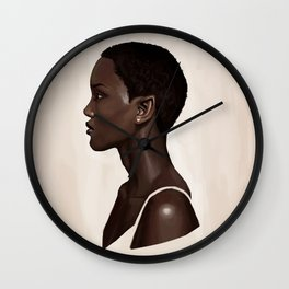 Elf Portrait Wall Clock