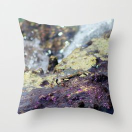 Crab in the Cayman Islands Throw Pillow
