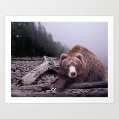 Some Days You Eat the Bear, Some Days the Bear Eats You Art Print