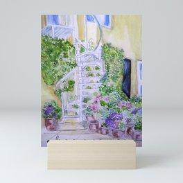 House spring Mini Art Print