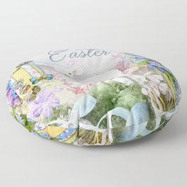 Easter Lamb Floor Pillow