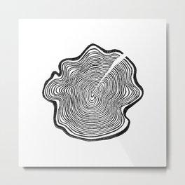 Tree Ring II Metal Print