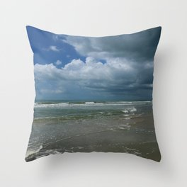 Summer At The Seaside Throw Pillow