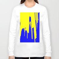 metropolis Long Sleeve T-shirts featuring Metropolis by osile ignacio