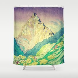 Sleeping in Colours at Minna Shower Curtain
