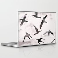 flight Laptop & iPad Skins featuring Flight by Georgiana Paraschiv