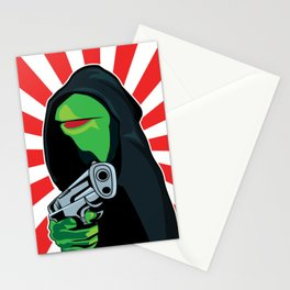 Gangster Kermit Stationery Cards