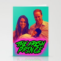 fresh prince Stationery Cards featuring The Fresh Prince by Matheus Lopes