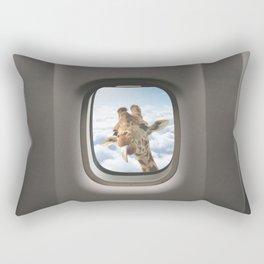 Funny Giraffe  Rectangular Pillow