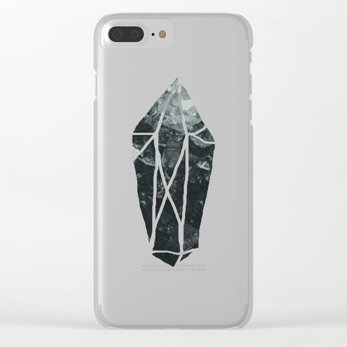 Dark Crystal Clear iPhone Case