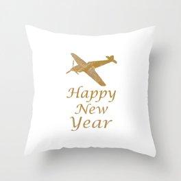 Happy New Year!! Enjoy 2015 Holidaze Throw Pillow