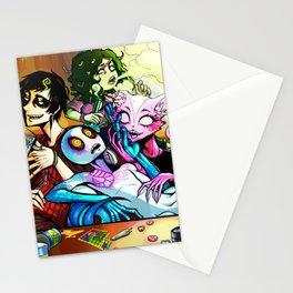 Trippy Team Stationery Cards