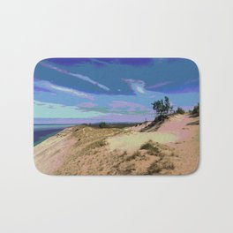 Michigan Sand and Dunes Bath Mat