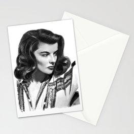 Katharine Hepburn Portrait Stationery Cards