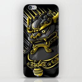 Gold Dragon iPhone Skin