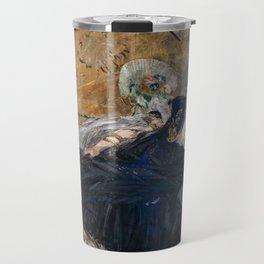 Edouard Manet - Lady with Fans Travel Mug