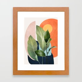 Nature Geometry VII Framed Art Print