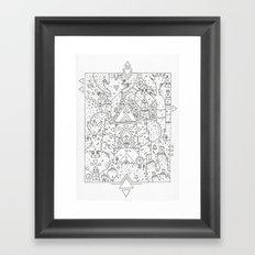 garden of koznoz Framed Art Print