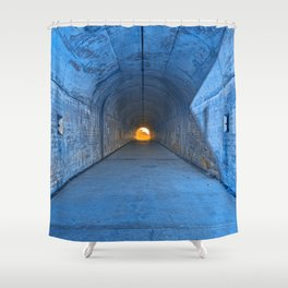 Tunnel of Redemption Shower Curtain