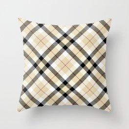 Plaid Rug Throw Pillow