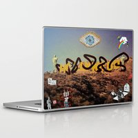 hollywood Laptop & iPad Skins featuring hollywood  by Edouard Campos