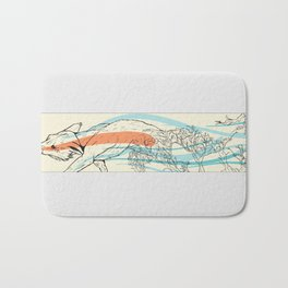 Bramble Fox Bath Mat