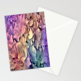 Soft Multi Color Hydrangea Stationery Cards