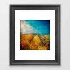 My Yellow Brick Road Framed Art Print