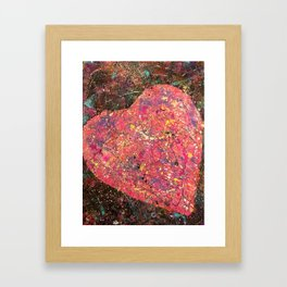 Heart To Heart 3 Framed Art Print