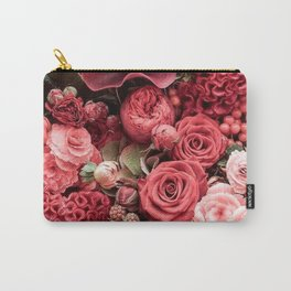 Flowers Fanfare Carry-All Pouch