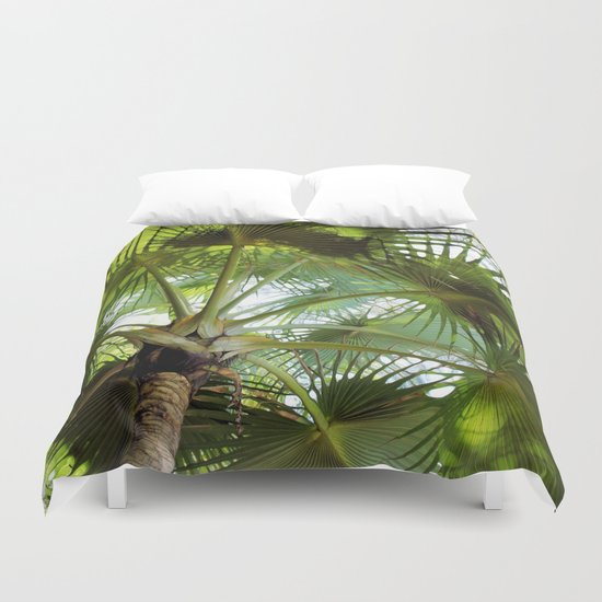 Ticket to the Tropics Duvet Cover