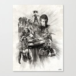 Homage to Mad Max Canvas Print