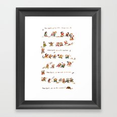 Summer Camp Framed Art Print