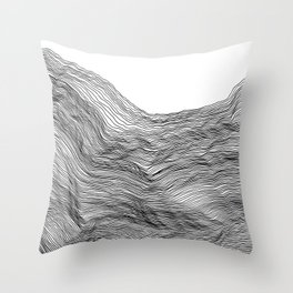 Linea 2 Throw Pillow