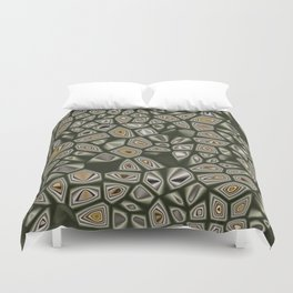 Abstract CMR 03 on VB Duvet Cover
