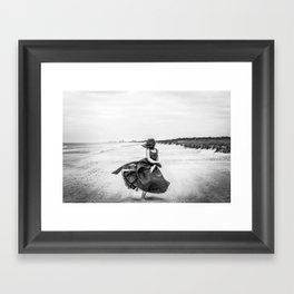 Windswept  Framed Art Print
