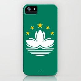 Flag of Macau iPhone Case